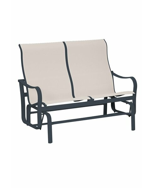 Shoreline Sling Double Glider Bench by Tropitone