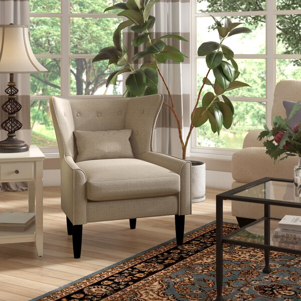 Millett Wingback Chair By Three Posts by Three Posts Great Reviews
