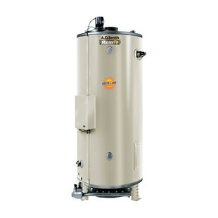 Commercial Tank Type Water Heater Nat Gas 85 Gal Master-Fit 390000 BTU Input Multiflue Model