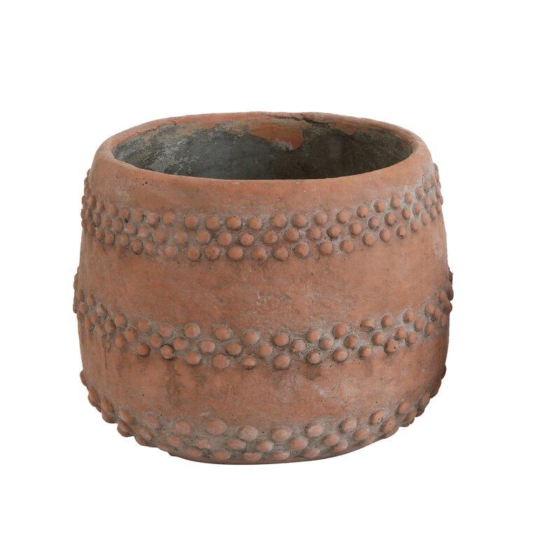Echols Cement Pot Planter
