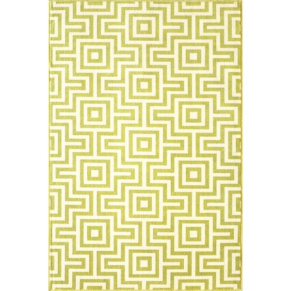 Rahul Hand-Woven Green Indoor/Outdoor Area Rug by Willa Arlo Interiors