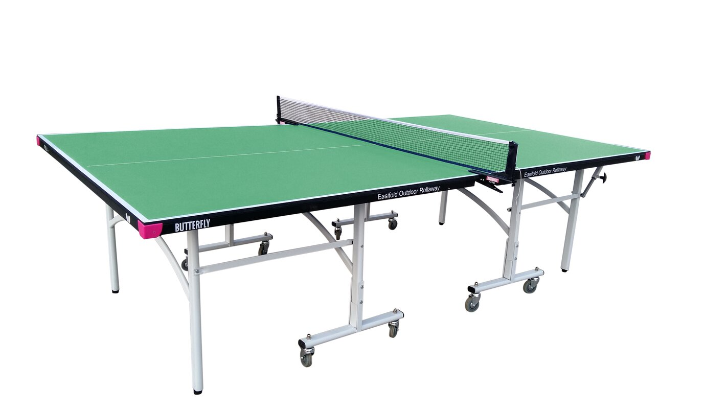 Butterfly Easifold Outdoor Table Tennis Table & Reviews | Wayfair