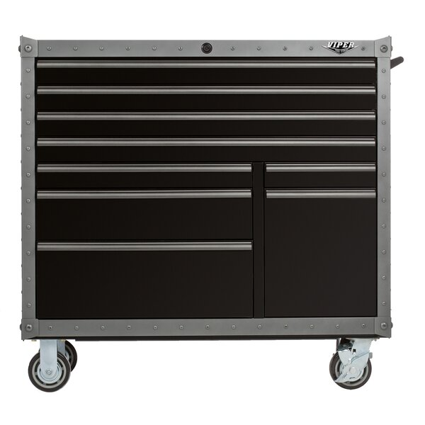 Armor Series 41W 9-Drawer Tool Chest by Viper Tool Storage