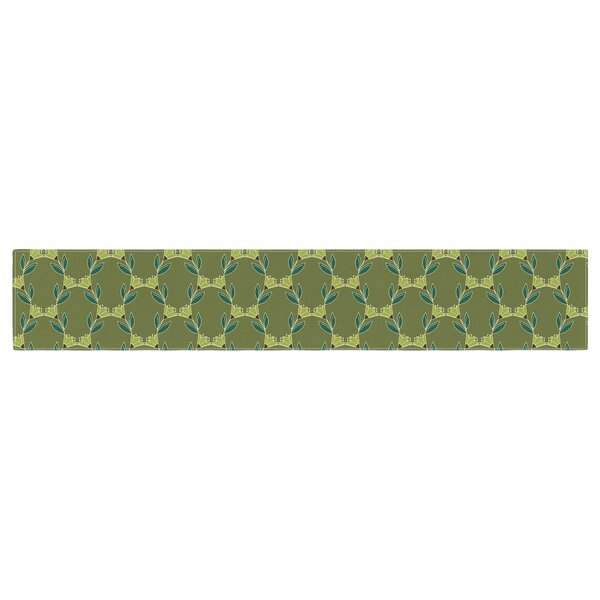 Holly Helgeson Flora Vine Table Runner by East Urban Home
