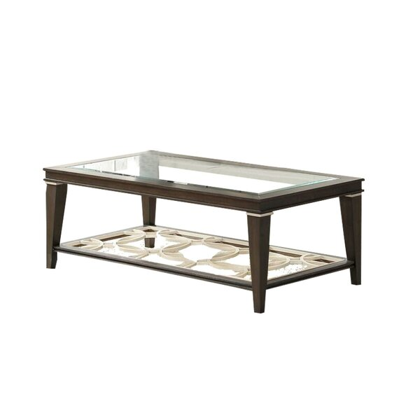 Daveigh Coffee Table With Storage By Red Barrel Studio