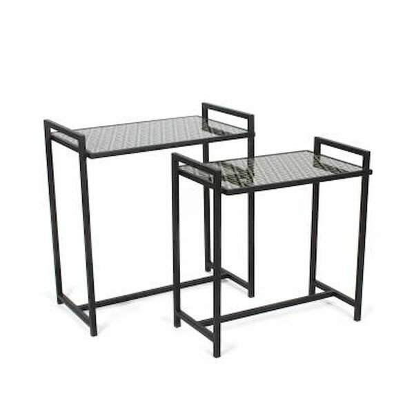 Review Lapeer 2 Piece Console Table Set (Set Of 2)