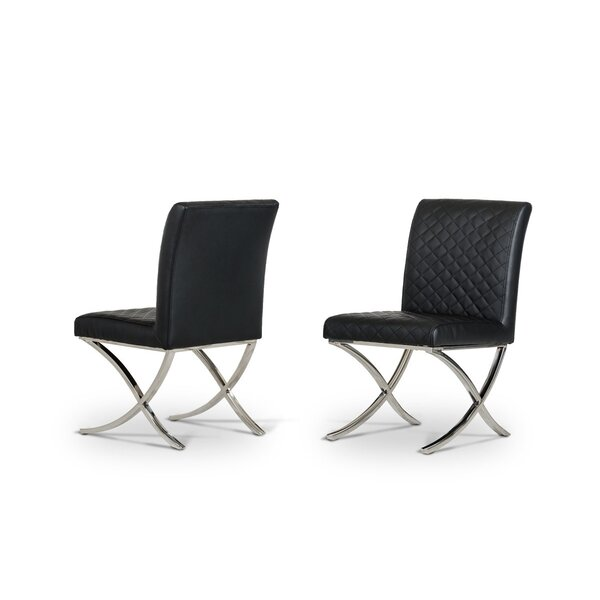Camron Upholstered Dining Chair (Set of 2) by Orren Ellis