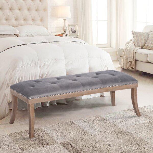 Bergeron Upholstered Bench by Rosalind Wheeler