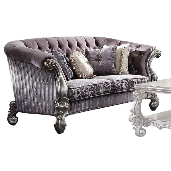 Review Faye Chesterfield Loveseat