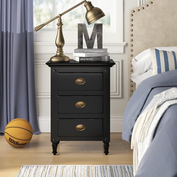 Easterbrook 3 Drawer Nightstand by Birch Lane™ Heritage