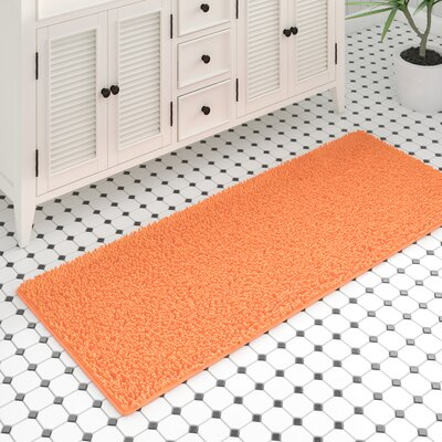 Orange Bath Rugs Amp Mats You Ll Love In 2019 Wayfair