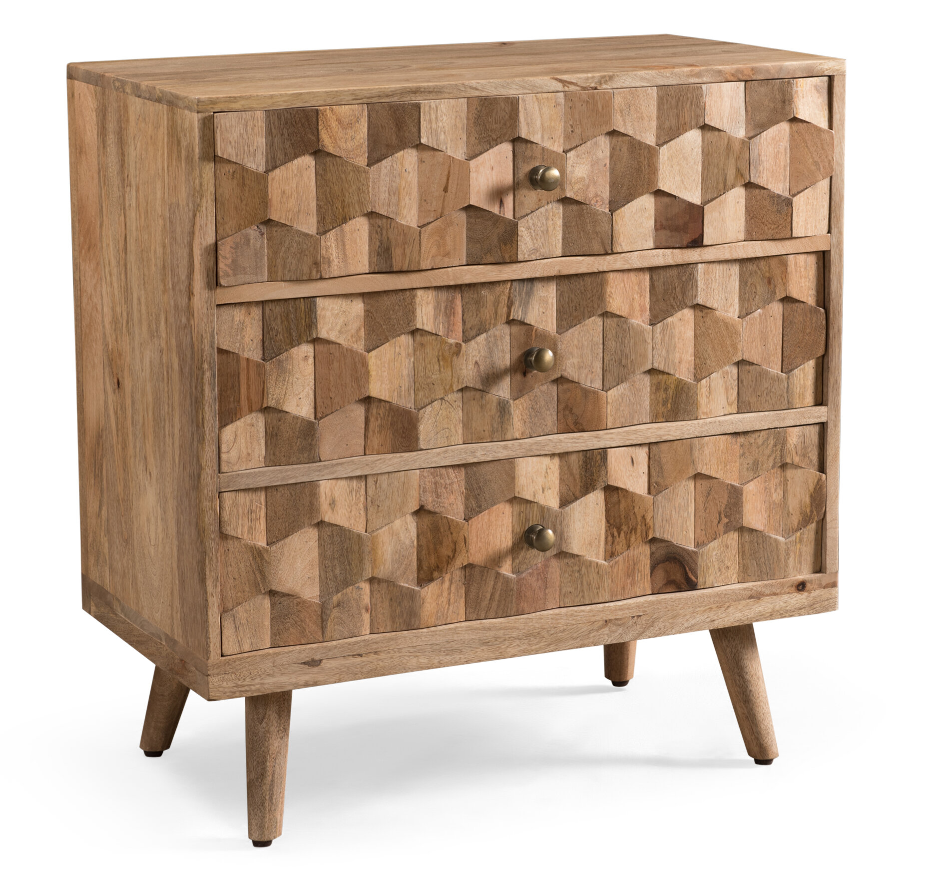 Union Rustic Westphal 3 Drawer Accent Chest & Reviews   Wayfair
