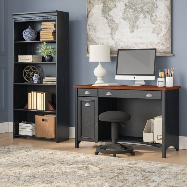 Carroll 2 Piece Desk Office Suite by Darby Home Co
