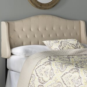 Bolivia Upholstered Wingback Headboard by Alcott Hill
