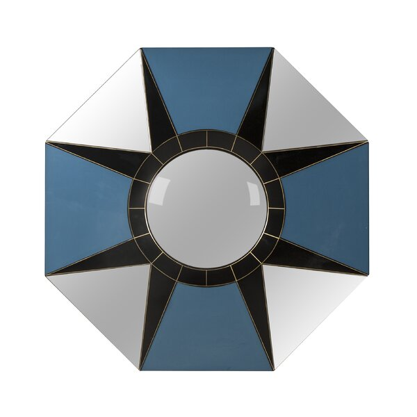 Boyd Fragment Star Accent Mirror by Resource Decor