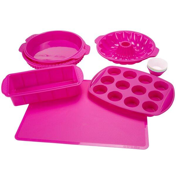 Classic Cuisine Non-Stick 18 Piece Silicone Bakeware Set ...