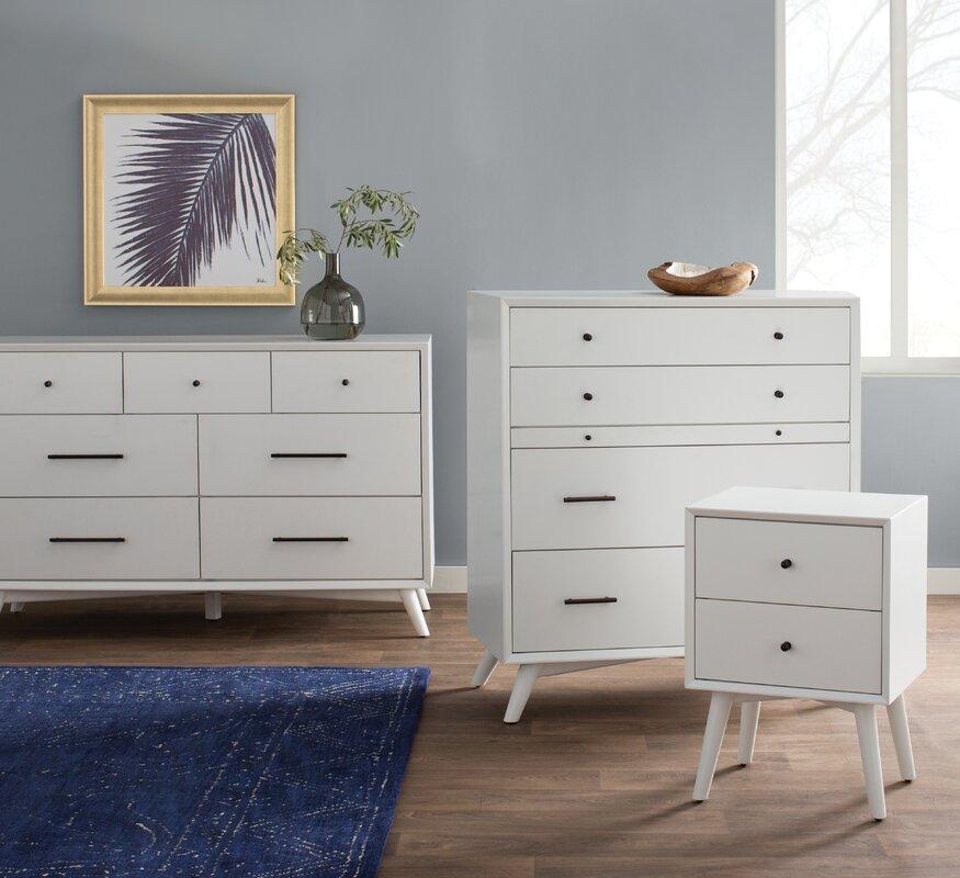 Wayfair All Modern: Langley Street Parocela 7 Drawer Dresser & Reviews