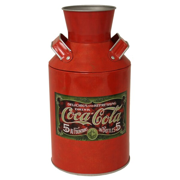 Coke Replica Decorative Bottle by Tin Box Company
