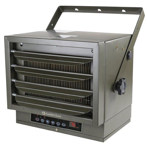 7,500 Watt Electric Fan Ceiling Mounted Heater By Comfort Zone