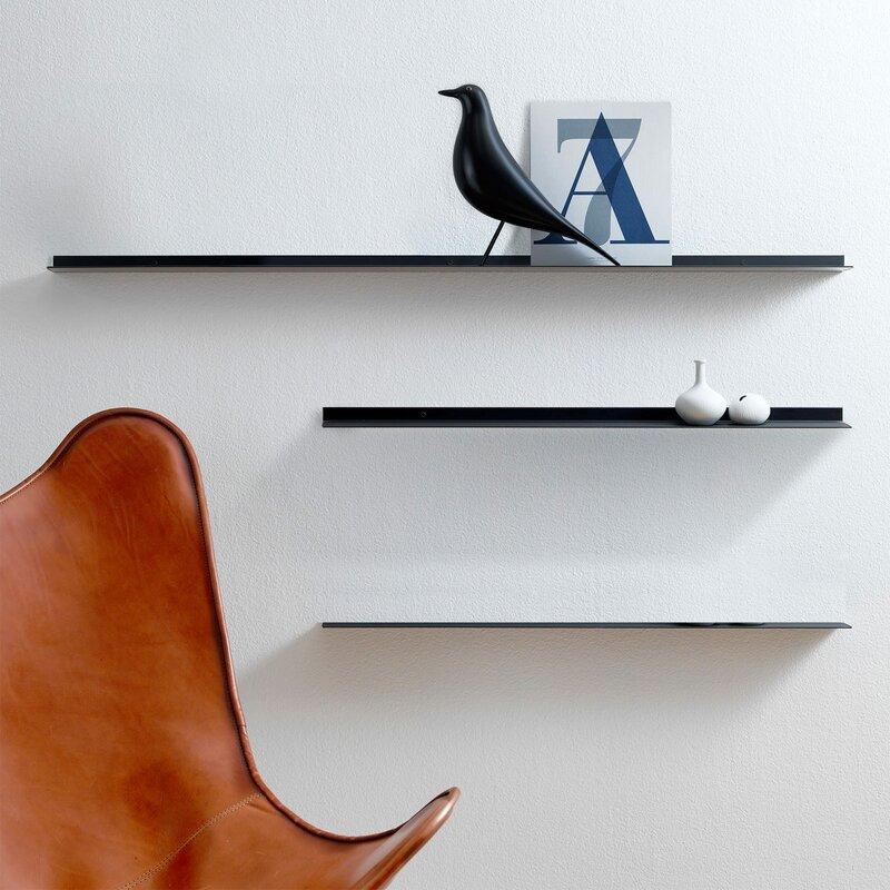hokku designs schweberegal exilis. Black Bedroom Furniture Sets. Home Design Ideas