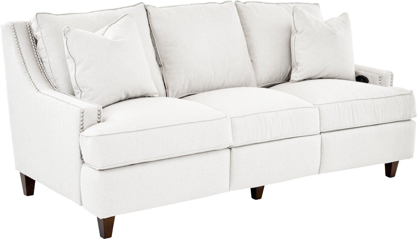 Tricia Power Hybrid Reclining Sofa  sc 1 st  Wayfair & Wayfair Custom Upholstery™ Tricia Power Hybrid Reclining Sofa ... islam-shia.org