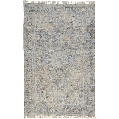 Darby Home Cofeaster Oriental Handmade Flatweave Beige Blue Area Rug Darby Home Co Rug Size Rectangle 7 6 X 9 6 Dailymail