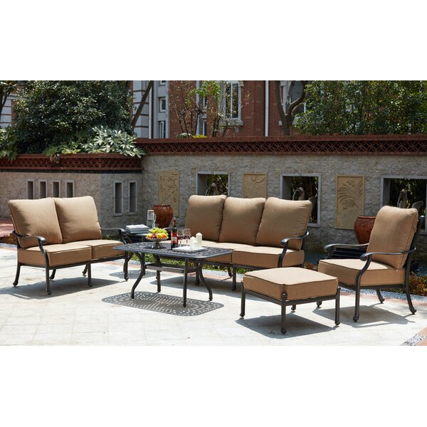 Waconia 6 Piece Sofa Set with Cushions by Darby Home Co