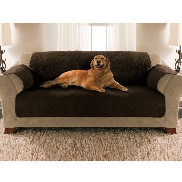 Double Diamond Box Cushion Sofa Slipcover by Yes Pets