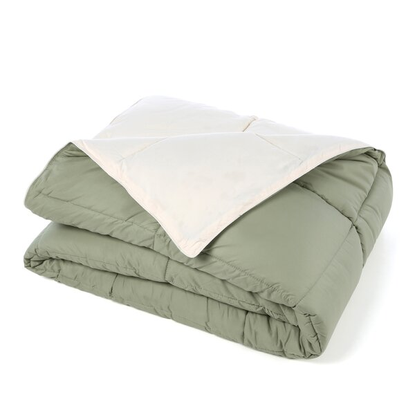 Hitchens All Season Reversible Down Alternative Comforter by Three Posts