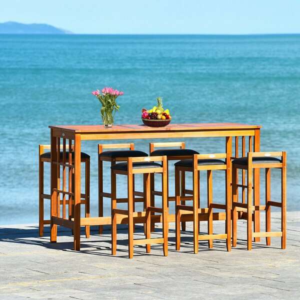 Carvers 7 Piece Dining Set by Ebern Designs