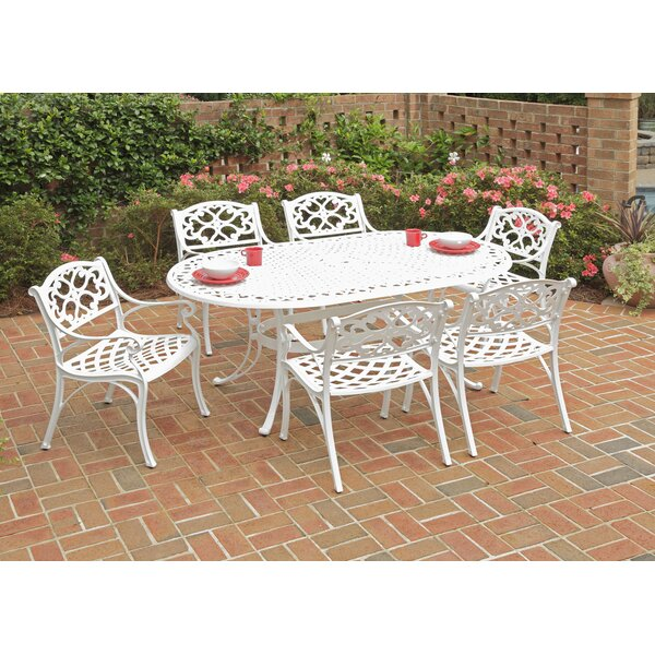 Bodrum 7 Piece Oval Dining Table Set by Astoria Grand