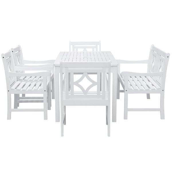 Andromeda 6 Piece Patio Dining Set by Beachcrest Home