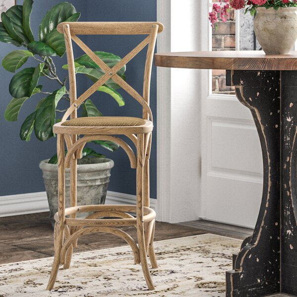 Montreal Wash 24.5 Bar Stool by One Allium Way