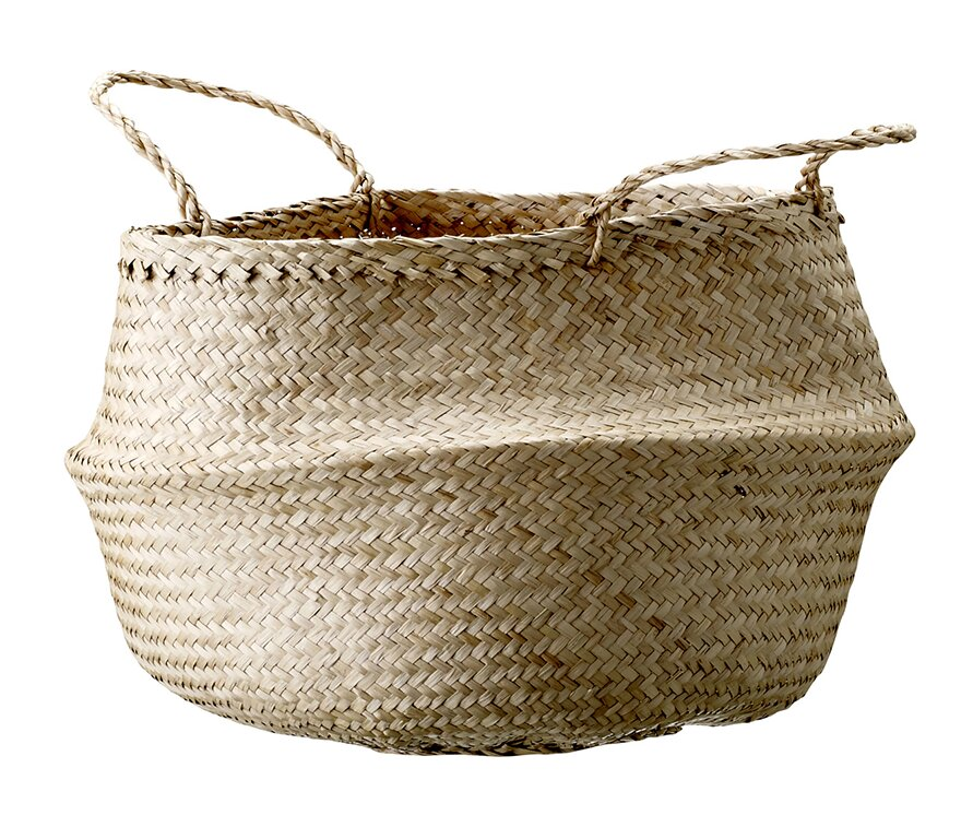 Seagrass Basket with Handles