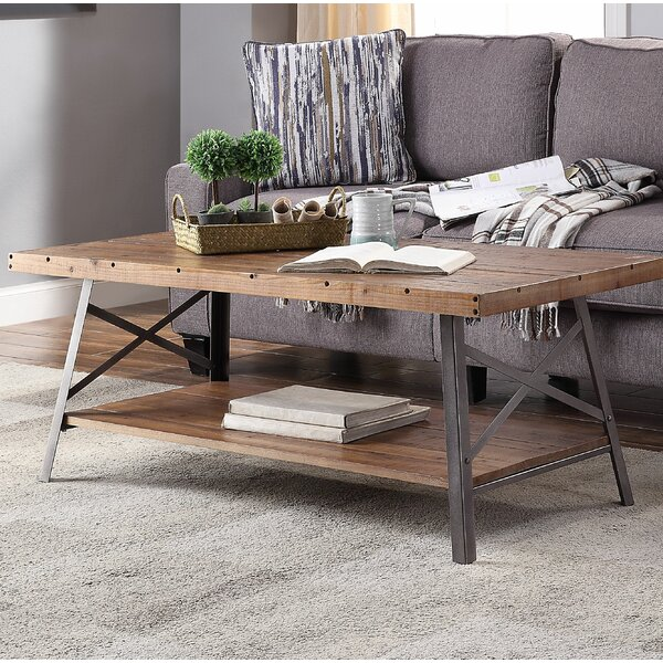Janiyah Coffee Table by 17 Stories