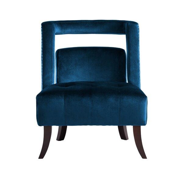 Neymar Slipper Chair by Everly Quinn
