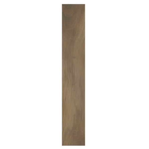 Kauri Nat Kaimai 8 x 48 Porcelain Wood Look Tile in Brown by Casa Classica