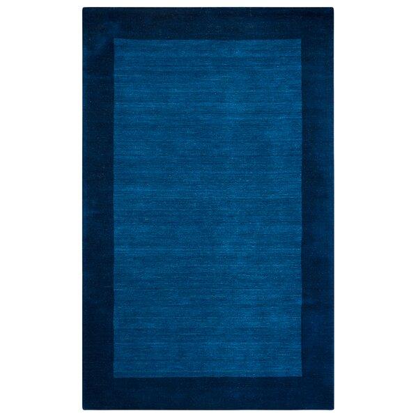 Hand-Woven Indigo Blue Area Rug by The Conestoga Trading Co.