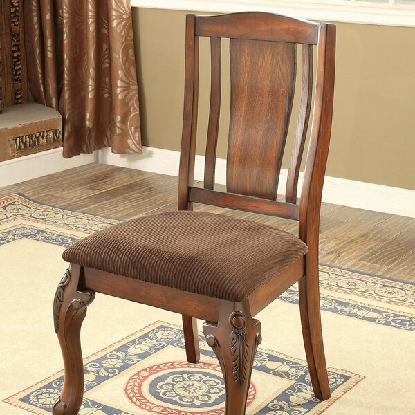 Dozier Solid Wood Dining Chair (Set Of 2) By Canora Grey