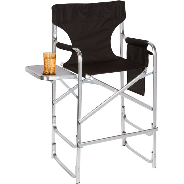 Bulwell Aluminum Frame Folding Director Chair by Freeport Park Freeport Park