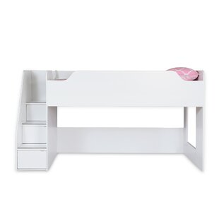 Shop For Mobby Loft Bed with Stairs BySouth Shore