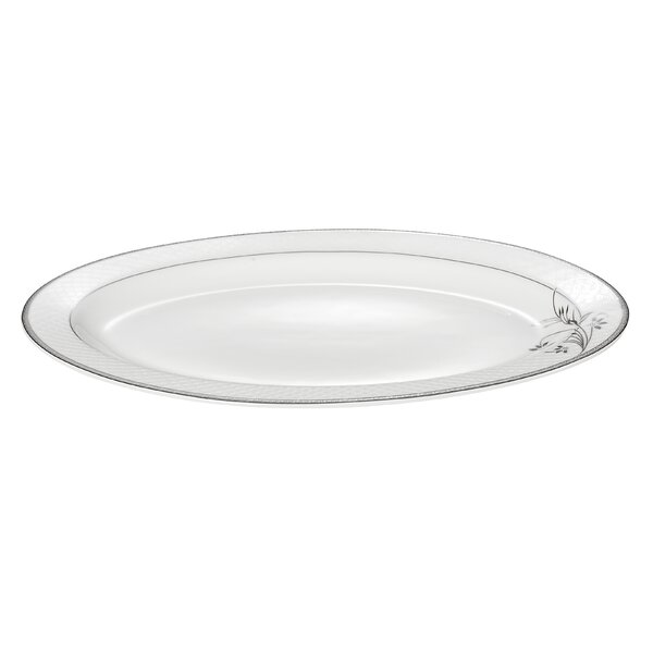 Viola 14 Bone China Serving Platter by Lorren Home Trends