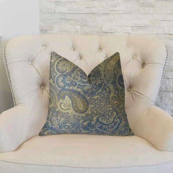 Paciotti Handmade Throw Pillow by Plutus Brands