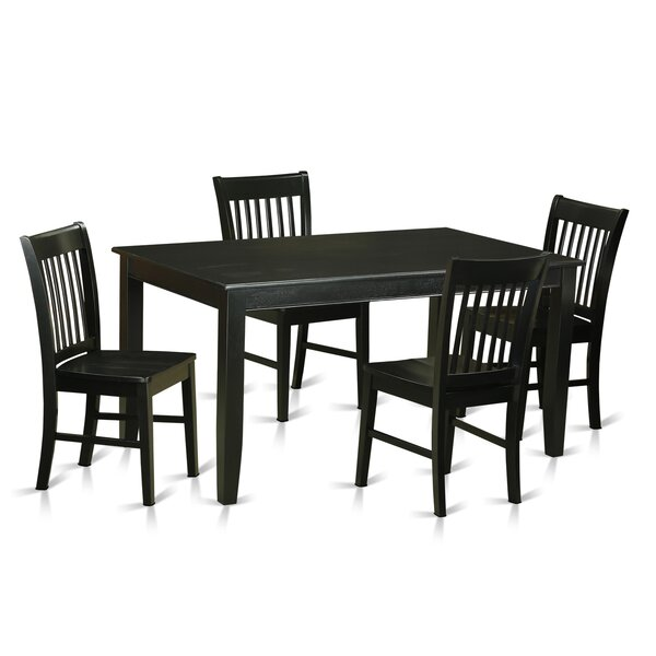 Araminta 5 Piece Dining Set by Alcott Hill