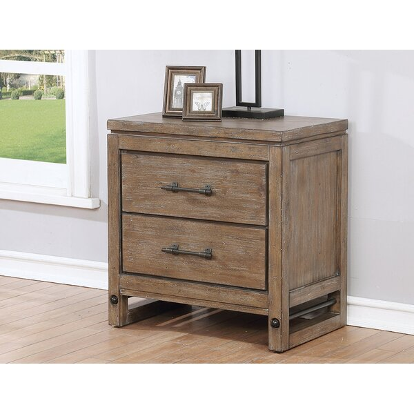 Martelli 2 Dawer Nightstand by Gracie Oaks