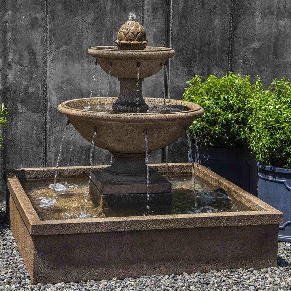 Concrete La Mirande Fountain by Campania International