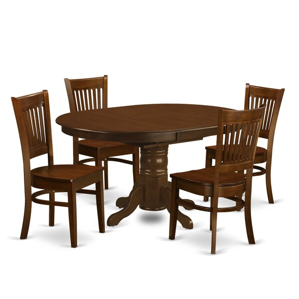 Aimee 5 Piece Dining Set by August Grove