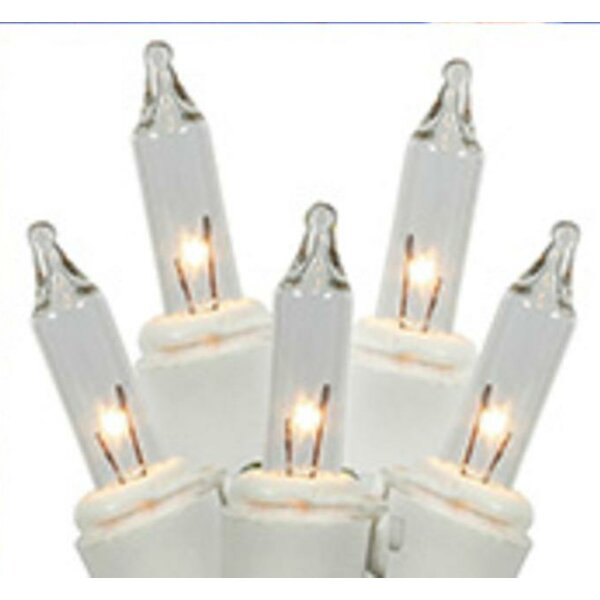150 Commercial Grade Icicle Christmas Light (Set of 150) by Vickerman