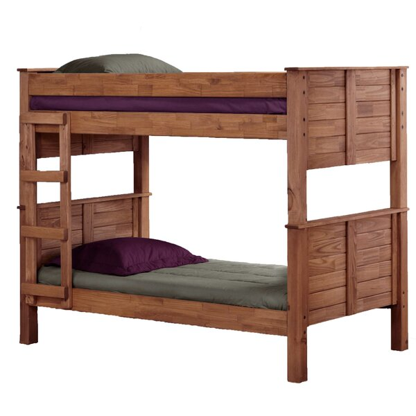 Cissell Twin Over Twin Post Bunk Bed by Harriet Bee