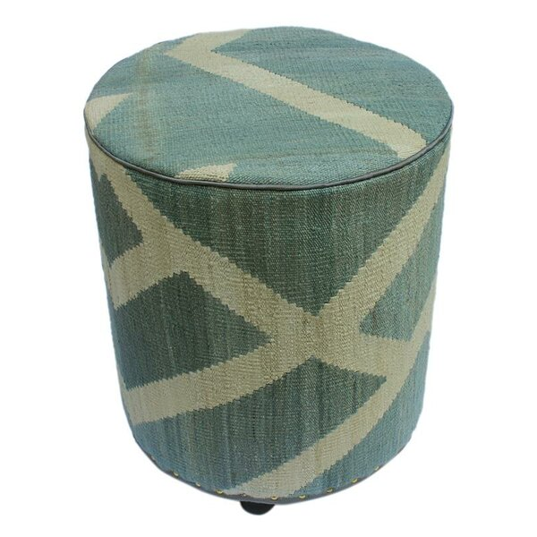 Ridgway Kilim Ottoman by World Menagerie